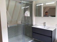 badkamer visgraat