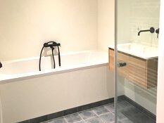 zwarte badkamer kranen